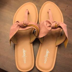 Shoes - Mauve/ light pink sandals